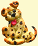Dalmatian Puppy Cookie made with ZANDA PANDA's Puppy Mold
