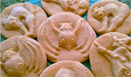 How to use ZANDA PANDA's Handmade Stoneware Cookie Molds