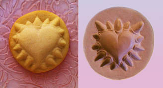 'Hurts So Good' Valentine Heart Cookie and Cookie Mold from ZANDA PANDA (ZandaPanda.com)