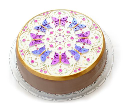 Kaleidoscope Butterfly Multi Cake