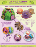 ZP What Can I Do With My Unicorn Mold Product Sheet